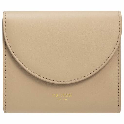 Oroton Etta Small Continental Wallet in Fawn and Smooth Leather for female