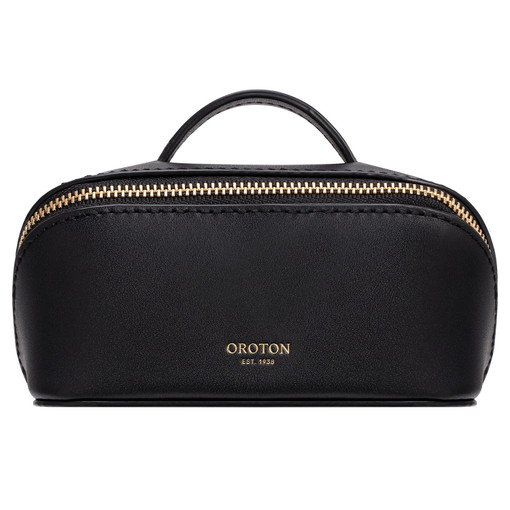Oroton Minna Small Wetpack in Black and Smooth Leather for female