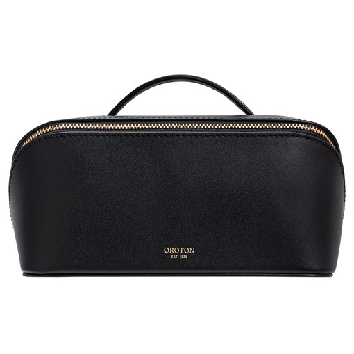 Oroton Minna Medium Wetpack in Black and Smooth Leather for female