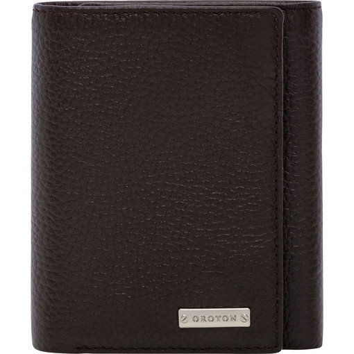 Oroton Finn Trifold in Chocolate and null for male