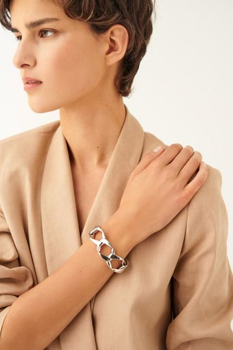 Oroton Aubrey Bracelet in Silver and null for female