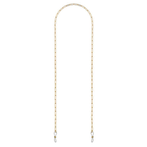 Oroton Hazel Sunglass Chain in Gold and Brass Base Metal With Precious Metal Plating for female