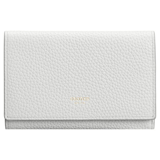 Oroton Malaga High Fold Wallet in Cloud Grey and Soft Pebble for female